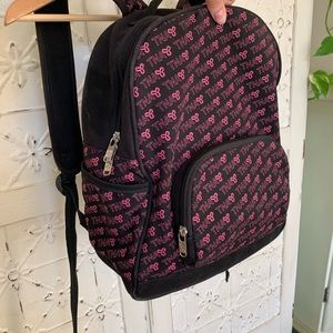 TNA Aritzia Backpack Pink and Black